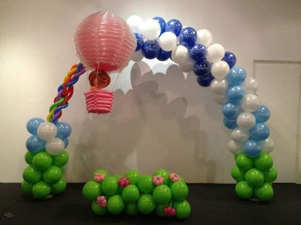 Оформление воздушными шарами: создаем незабываемый антураж (68 фото)