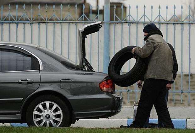 Слух о запрете летних шин в осенне-зимний период не подтвердился