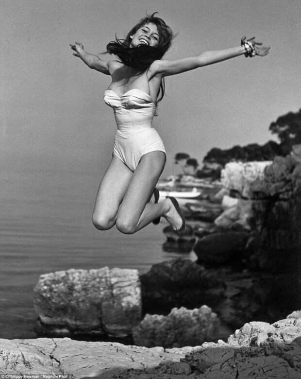 Французская актриса Брижит Бардо
