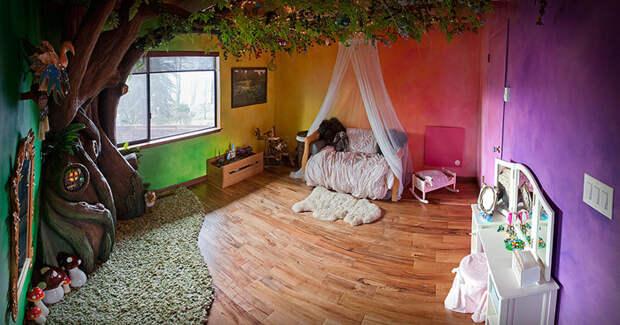 Ремонт занял 18 месяцев и 350 часов дерево, дочь, отец, спальня