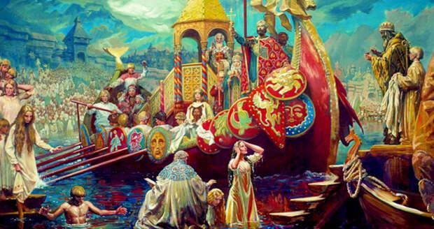 Крещение Руси. А что мы на самом деле о нем достоверно знаем?