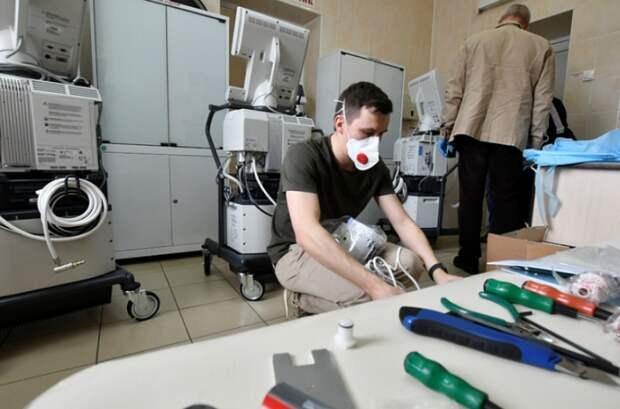 На Кубани больницы получили 39 аппаратов ИВЛ
