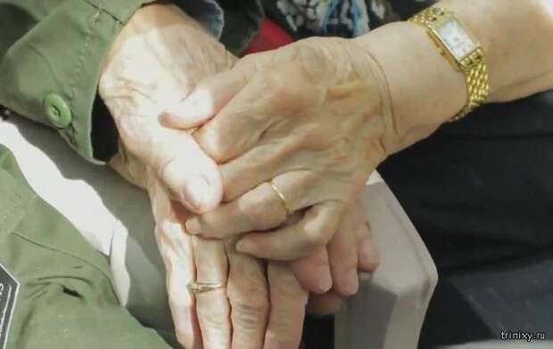 Ветеран Второй мировой встретился с первой возлюбленной
