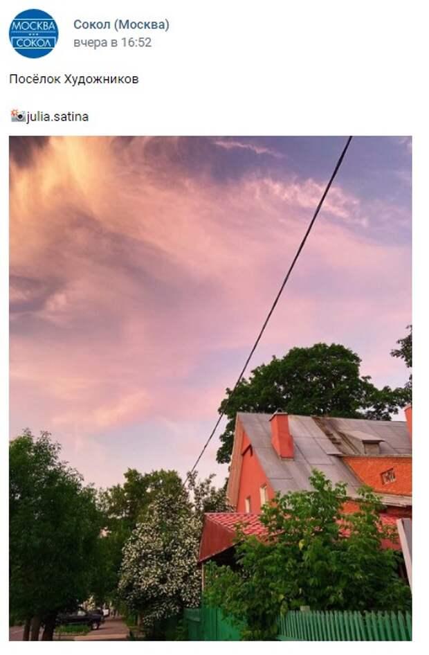 Фото дня: летняя атмосфера в поселке Художников