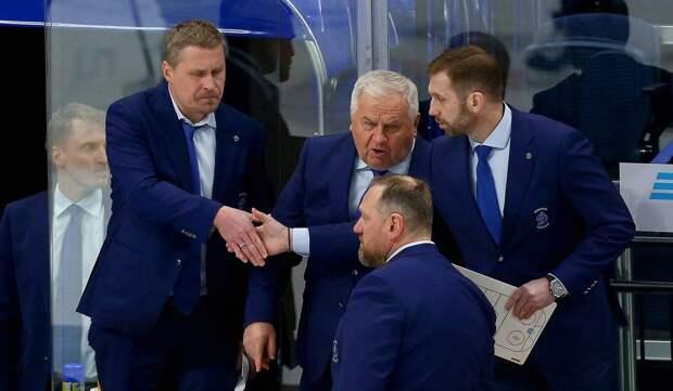 Московское «Динамо» уверенно обыграло СКА в первом матче серии плей-офф КХЛ