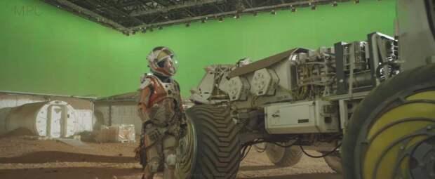 Невероятные визуальные эффекты в фильме «Марсианин»