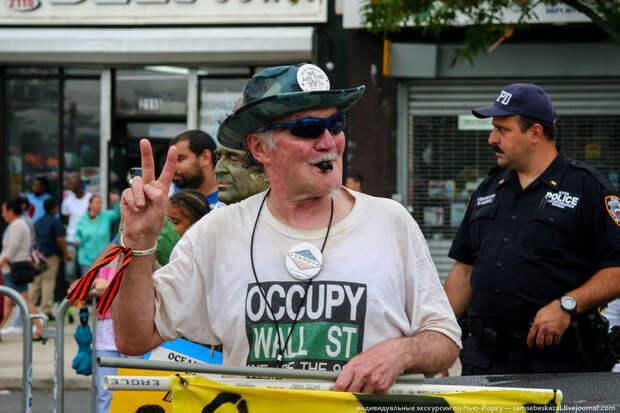 Человек-протест. америкосы, манхетон, руссалки