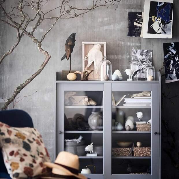 Необычный шкаф-витрина Хауга, увидела у подруги и теперь хочу себе такой
