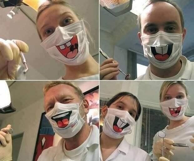Повязки стоматологов (идея)