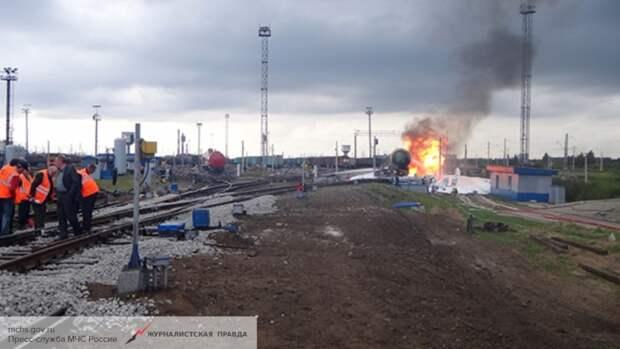 Под Одессой произошел подрыв грузового поезда
