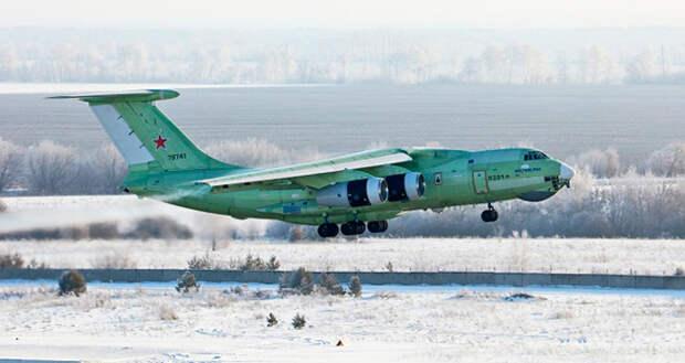 Новый топливозаправщик Ил-78М-90А совершил первый полет