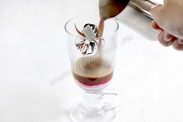 Безалкогольные напитки. Коктейль «Le tentation»