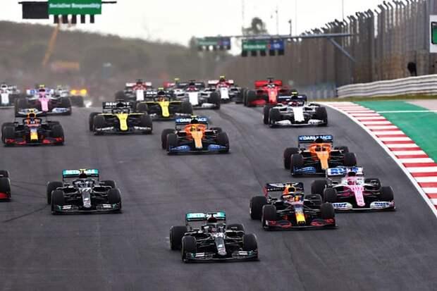 Гран-при Португалии: рекорды побиты. 92-я победа Льюиса Хэмилтона