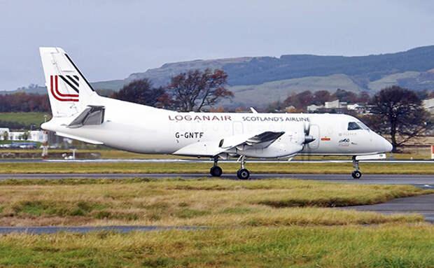 Экипаж Loganair спас самолет за 7 секунд до падения в море