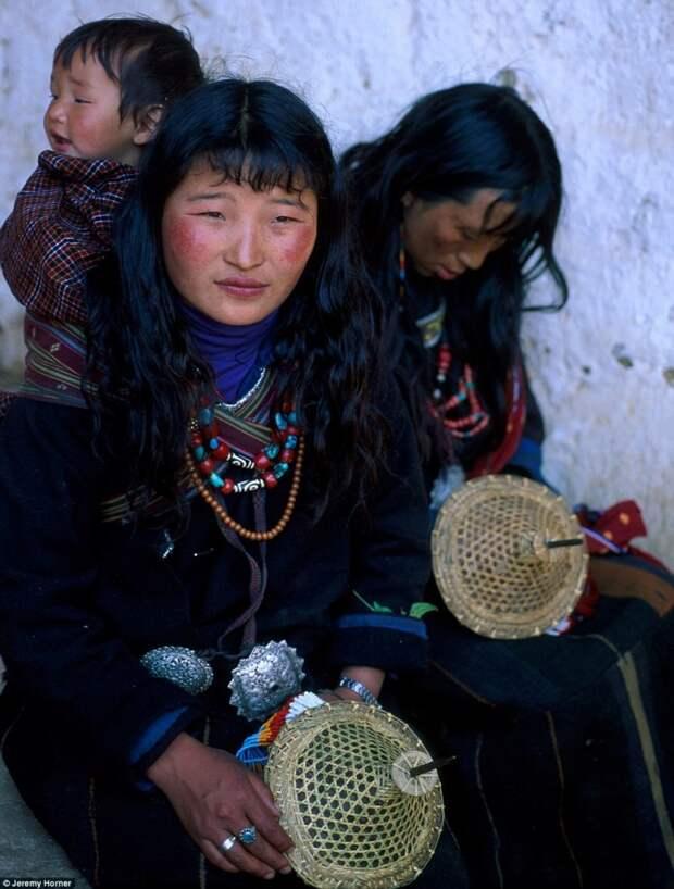 Жители Бутана