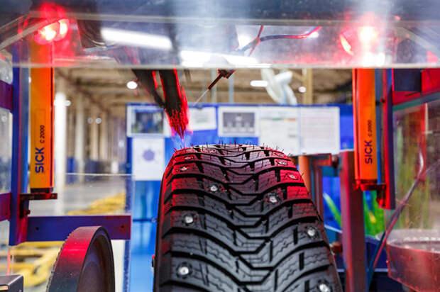 Michelin — как делают ошиповку на зимних шинах