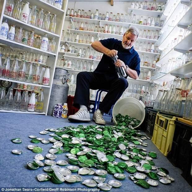 Бутылки из-под молока