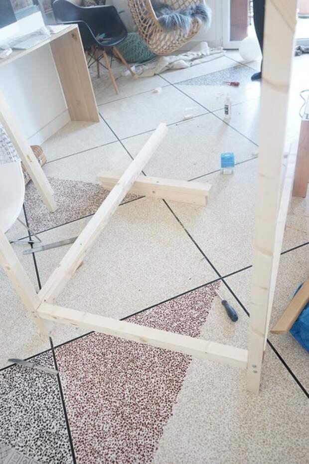 Своими руками: Как сделать кровать-домик для ребенка