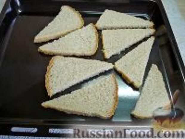 Фото приготовления рецепта: Сэндвичи с форшмаком - шаг №4