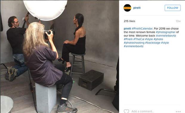 Патти Смит, Йоко Оно и Серена Уильямс снимутся в календаре Pirelli 2016