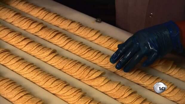 Как и из чего делают картофельные чипсы