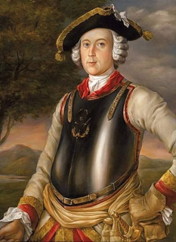 Карл Фридрих Иероним барон фон Мюнхгаузен. Г. Брукнер, 1752 год. / Фото: www.krot.info