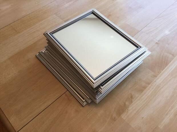 Бюджетное зеркало-окно своими руками DIY