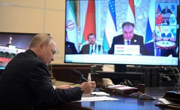 Путин назвал главам стран ШОС сумму, направленную наподдержку населения