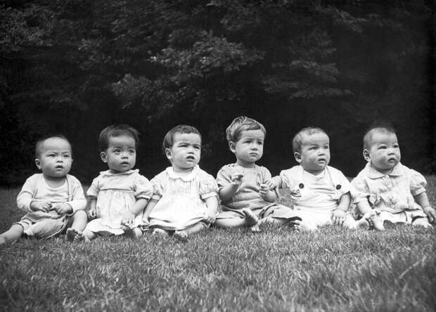 Прорвало: исторические снимки беби-бума в США