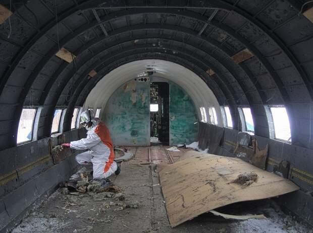 Пермяки решили отреставрировать брошенный советский ИЛ-14
