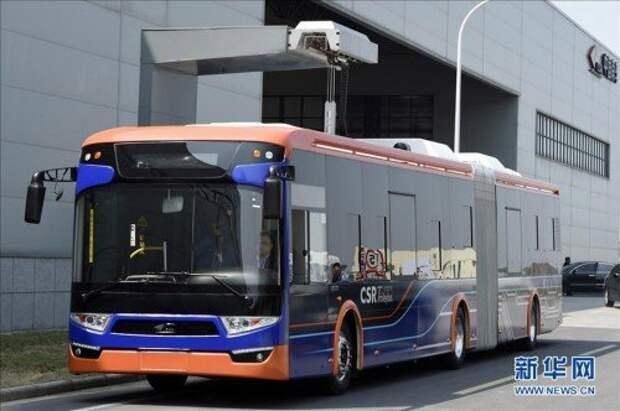 В Китае изобрели суперзарядку для электроавтобусов