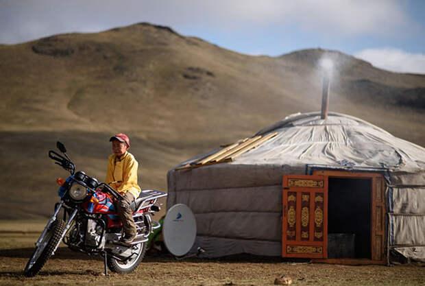 Один день из жизни монгольского подростка-жокея