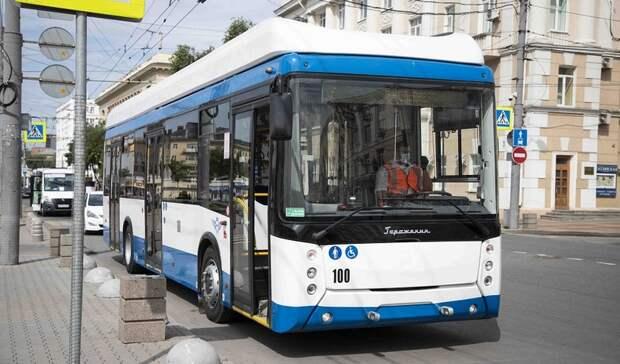 Схему движения двух троллейбусов временно поменяют вРостове