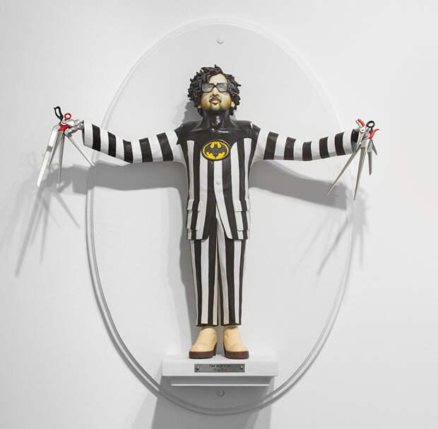 Сатирические скульптуры знаменитых кинорежиссеров от Майка Ливитта