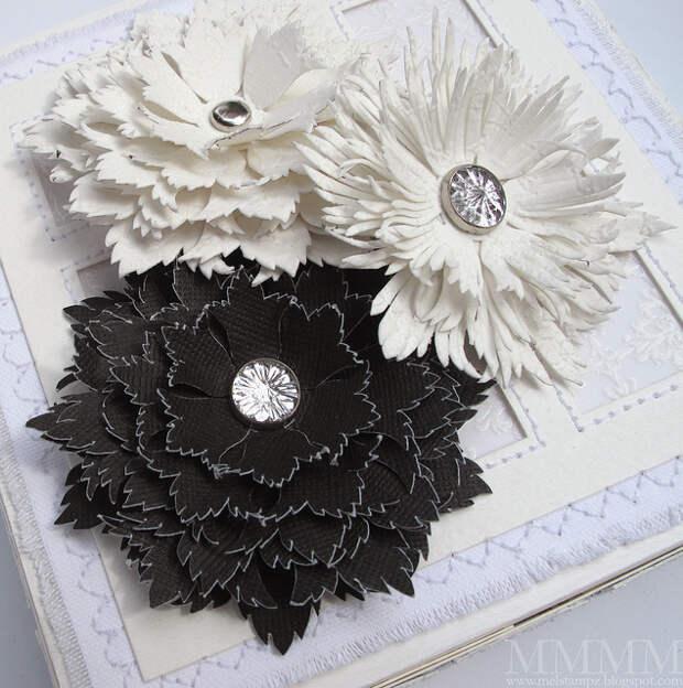 elaborate flower template