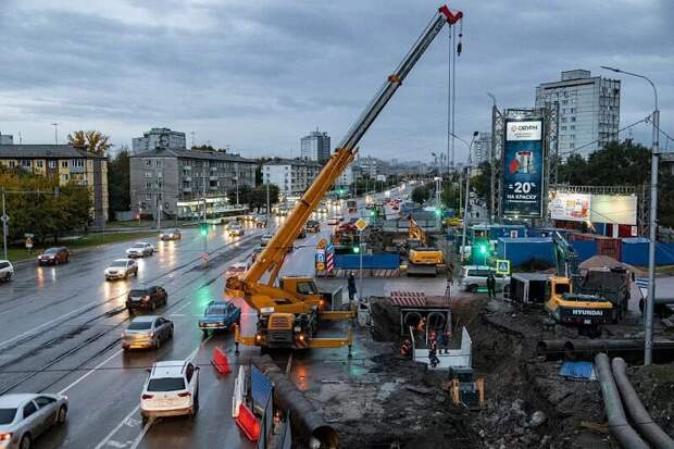 Почему работы на теплосетях в Красноярске ушли в осень?