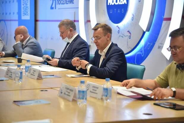 Московские единороссы внесут в Народную программу партии предложения по сохранению водоемов столицы. фото: Ольга Крылова