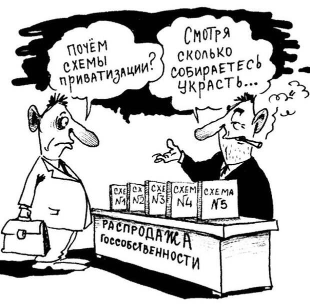 О приватизации и национализации