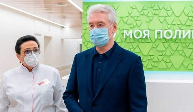 Собянин: Москва проходит пандемию с минимальными потерями