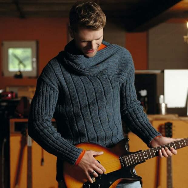 Крутой мужской свитер (diy)