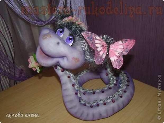 Змейка. МК по шитью игрушек