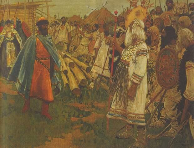 Столкновение языческой и христианской культур поздней античности
