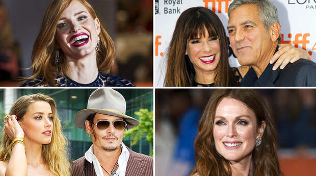 Звезды Голливуда на кинофестивале в Торонто