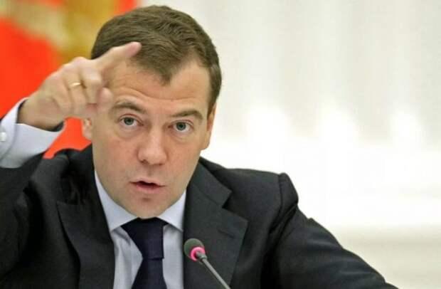 Россия премьер Медведев