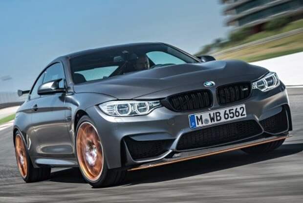 Экстремальная BMW M4 GTS переходит на карбон и воду (ФОТО)