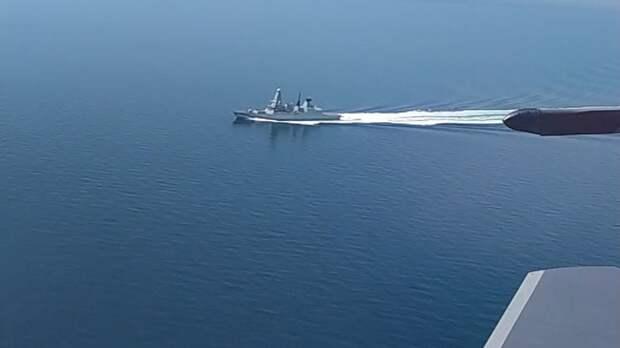 В МО назвали действия эсминца Британии в Чёрном море эпическим фиаско