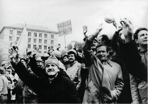 1 марта 1991 г. Начало политической забастовки шахтеров Донбасса.