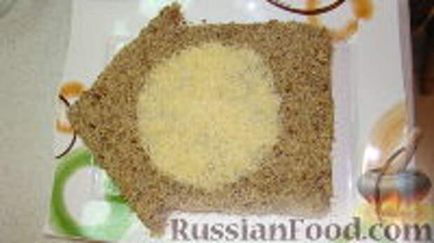 """Фото приготовления рецепта: Салат """"Часы"""" - шаг №11"""