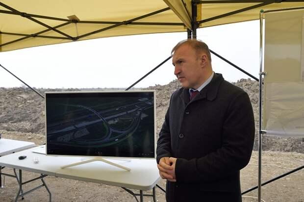 Транспортную развязку в Тахтамукайском районе планируют завершить в 2022 году