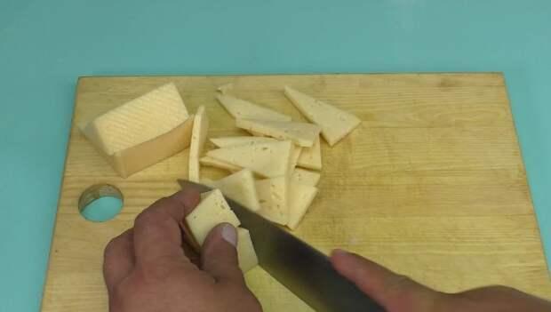 Турецкий повар показал, как правильно нарезать сыр, мне 39 лет, а я рот закрыть не смог
